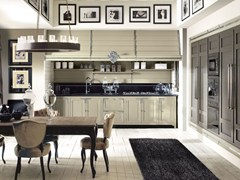 - Fitted wood kitchen ISLAMORADA - COMPOSITION 02 - Marchi Cucine