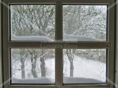 Pellicola per vetri a controllo solare adesiva isolanteISOL-100i - LUMINIS FILMS
