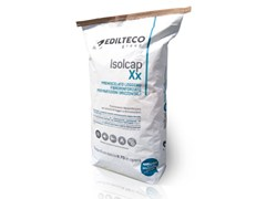 - Pre-mix for thermal insulating screed ISOLCAP XX - EDILTECO