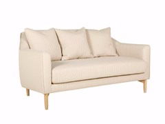 - Upholstered 2 seater fabric sofa IVY | 2 seater sofa - SITS