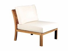 - Upholstered fabric garden armchair IXIT | Garden armchair - ROYAL BOTANIA