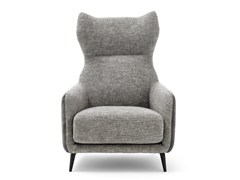 - Fabric wingchair with armrests DUFFLÉ | Fabric armchair - Ditre Italia