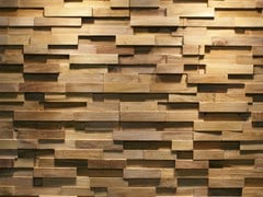- Reclaimed wood 3D Wall Tile JAVA SP STRAIGHT - Teakyourwall