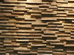 - Reclaimed wood 3D Wall Tile JAVA SP TINY - Teakyourwall