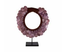 - Sculpture JAYA PARURE PLASTRON ROND - Compagnie Française de l'Orient et de la Chine