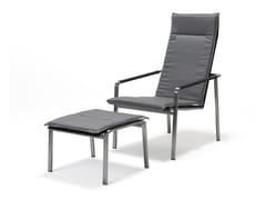 Sedia a sdraio reclinabile con braccioliJAZZ | Sedia a sdraio - SOLPURI