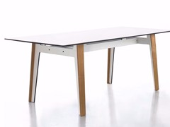 - Rectangular HPL dining table JIG | Rectangular table - conmoto by Lions at Work