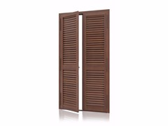 - Aluminium security shutter with fixed louvers K80 Fixed Armored - Kikau