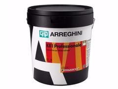 Smalto murale base acquaK81 PROFESSIONALE - CAP ARREGHINI