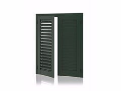 - Aluminium shutter with adjustable louvers with planar louvers K90 Planar Adjustable - Kikau