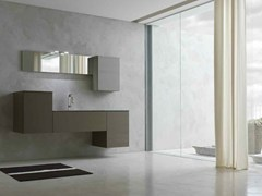 - Bathroom cabinet / vanity unit KARMA - COMPOSITION 17 - Arcom