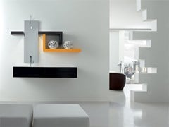 - Bathroom cabinet / vanity unit KARMA - COMPOSITION 30 - Arcom