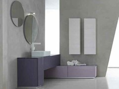 - Bathroom cabinet / vanity unit KARMA - COMPOSITION 35 - Arcom