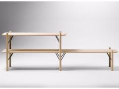 Scaffale modulare in legnoKEA | Scaffale - ALKI
