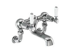 - Wall-mounted chromed brass bathtub tap with aerator KENSINGTON | Wall-mounted bathtub tap - Polo