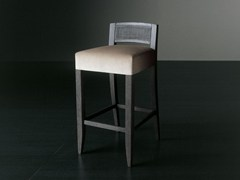 - Upholstered stool with removable cover KERR DIECI - Meridiani