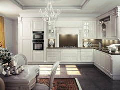 - Lacquered wooden fitted kitchen MICHELANGELO | Kitchen - Oikos Cucine