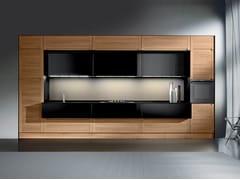 - Multi-layer wood fitted kitchen MILLENIUM | Kitchen - Oikos Cucine