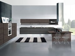 - Fitted kitchen with peninsula AREA | Kitchen with peninsula - Oikos Cucine