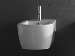- Wall-hung ceramic bidet KOMODO   Bidet - Antonio Lupi Design®