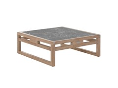 - Low square garden side table KONTIKI | Low coffee table - EMU Group S.p.A.