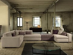 - Corner fabric sofa KOOI | Corner sofa - Domingo Salotti