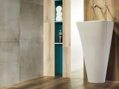 - Porcelain stoneware wall/floor tiles KORZILIUS NEUTRAL | Wall/floor tiles - TUBADZIN