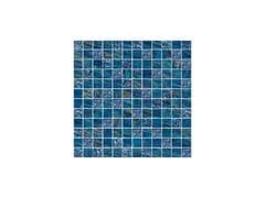- Porcelain stoneware mosaic LUX BLU - CERAMICHE BRENNERO