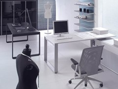 - L-shaped workstation desk MIXT | L-shaped office desk - BALMA