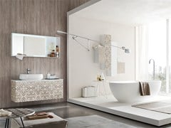 - Bathroom cabinet / vanity unit LA FENICE DECOR - COMPOSIZION 23 - Arcom