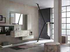- Sistema bagno componibile LA FENICE DECOR - COMPOSIZIONE 24 - Arcom