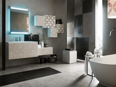 - Bathroom cabinet / vanity unit LA FENICE DECOR - COMPOSIZION 25 - Arcom
