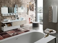 - Bathroom cabinet / vanity unit LA FENICE DECOR - COMPOSIZION 26 - Arcom