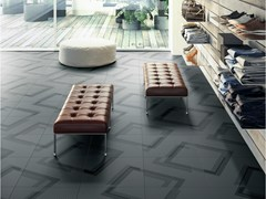 - Porcelain stoneware wall/floor tiles LABYRINTH - ANGLE - Ceramiche Refin