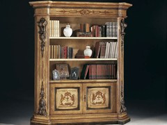 - Open lacquered bookcase MACCHIAVELLI | Lacquered bookcase - Arvestyle