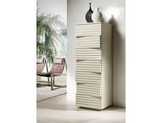 - Cassettiera a terra in fibra di legno TIFFANY | Cassettiera laccata - Pacini & Cappellini
