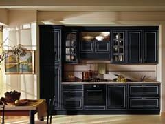 - Cucina componibile laccata in legno con maniglie RAFFAELLO | Cucina laccata - Oikos Cucine