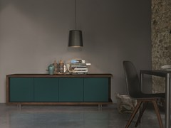 - Lacquered oak sideboard with doors FRAME | Lacquered sideboard - Dall'Agnese