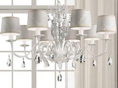 - Lampadario a luce diretta in metallo con cristalli ACANTIA | Lampadario - Masiero