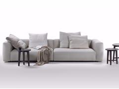 - 3 seater sofa with removable cover LARIO 2016 | 3 seater sofa - FLEXFORM