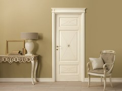 - Lacquered solid wood door LE CIFRE - LEGNOFORM