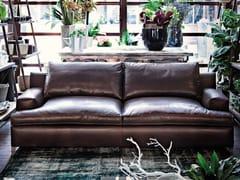 - 2 seater leather sofa MALTA | Leather sofa - Arketipo