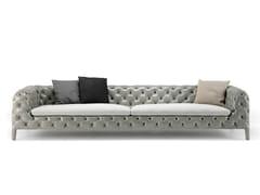 - Tufted leather sofa WINDSOR | Leather sofa - Arketipo