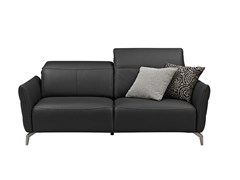 - Upholstered leather sofa LIVEA | Leather sofa - GAUTIER FRANCE
