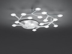 - LED direct light ceiling lamp LED NET CIRCLE | Ceiling lamp - Artemide Italia