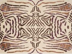 - Handmade rectangular rug LEPKE - Deirdre Dyson