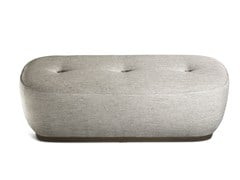 - Upholstered fabric bench LEPLI | Fabric bench - Poltrona Frau