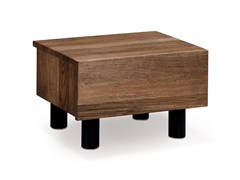 - Wooden bedside table LETTO | Bedside table - Oliver B.