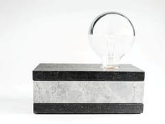 LAMPADA DA TAVOLO IN MARMOLIT | LAMPADA DA TAVOLO IN MARMO - ATELIER BUSSIÈRE