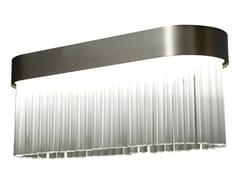 Lampada a sospensione in acciaio e vetroLIBRETTO | Lampada a sospensione - ROCHE BOBOIS